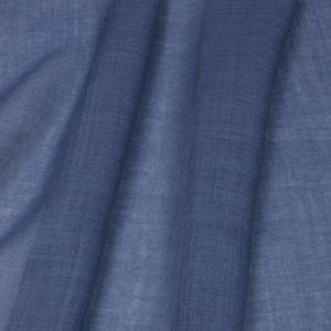 Wool Mousseline dyed with 10% woad